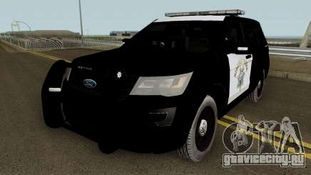 Ford Explorer CHP 2016 для GTA San Andreas