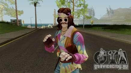 Fortnite Hippie Far Out Man для GTA San Andreas