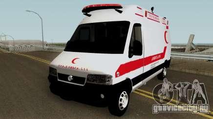 Fiat Ducato 2005 Turkish Ambulance для GTA San Andreas