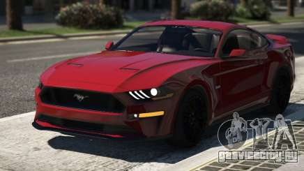 Ford Mustang GT 2018 для GTA 5