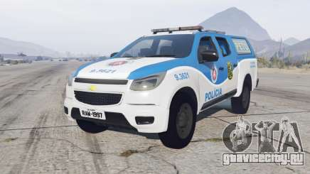 Chevrolet S10 Double Cab 2012 Policia для GTA 5
