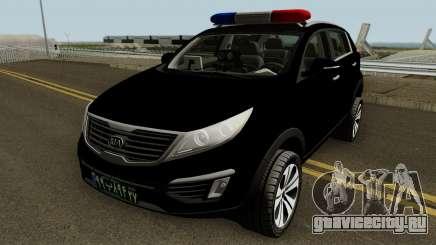 Kia Sportage Police Iran для GTA San Andreas