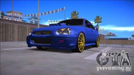 2005 Subaru Impreza WRX STI для GTA San Andreas