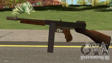 Gusenberg Sweeper M1928 GTA V для GTA San Andreas