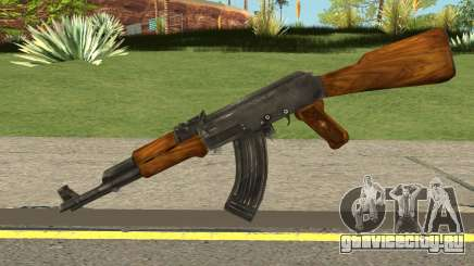 Uncharted Drakes Fortune AK-47 для GTA San Andreas