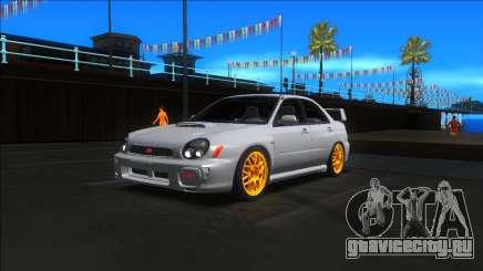 2001 Subaru Impreza WRX STI для GTA San Andreas