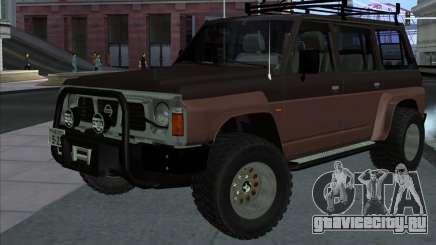 Nissan Patrol Y60 Offroad для GTA San Andreas