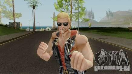 Duke Nukem Skin для GTA San Andreas