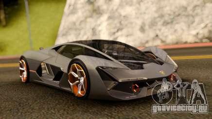 Lamborghini Terzo Millennio 2017 Concept для GTA San Andreas