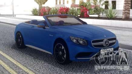 Mercedes-Benz S63 C217 для GTA San Andreas