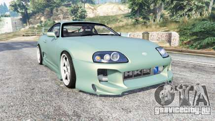 Toyota Supra Turbo (JZA80) [add-on] для GTA 5