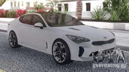 Kia Stinger White для GTA San Andreas