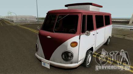 Burgerfahrzeug Volkswagen T2 Microbus для GTA San Andreas