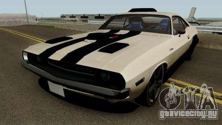 Dodge Challenger RT 1970 Tuned для GTA San Andreas