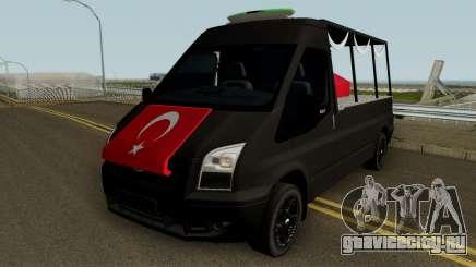 Ford Transit Sehit Cenaze Aracı для GTA San Andreas