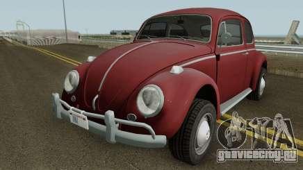 Volkswagen Beetle Deluxe 1300 (Non-ragtop) 1963 для GTA San Andreas