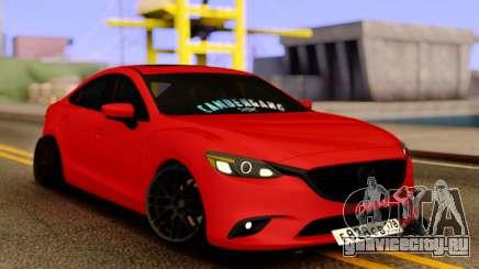 Mazda 6 Red Sport для GTA San Andreas