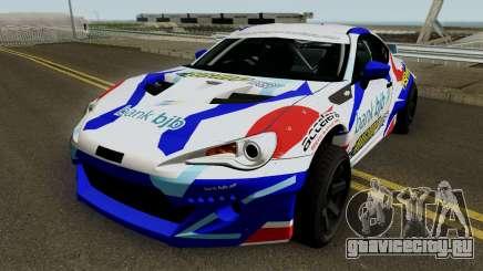 Subaru BR2Z HGMP Racing Team для GTA San Andreas