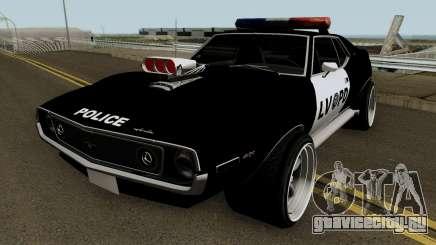 AMC Javelin AMX 401 Police LVPD 1971 V2 для GTA San Andreas