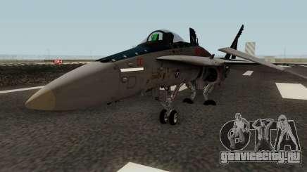 FA-18C Hornet VMFA-321 MG-00 для GTA San Andreas