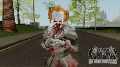 Pennywise WIth Blood для GTA San Andreas