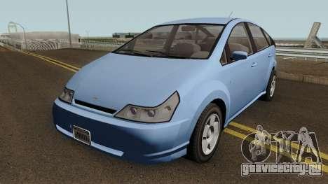 Toyota Prius Civil Y Taxi Hibrido De CDMX V1 для GTA San Andreas