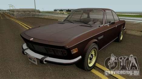 Ubermacht Zion Classic GTA V IVF для GTA San Andreas