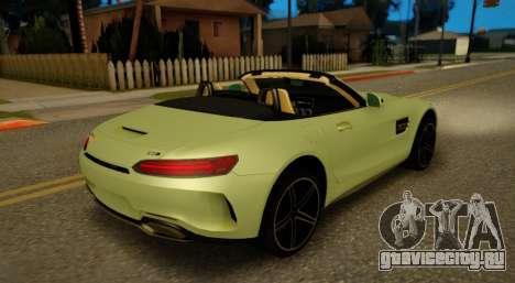 Mercedes-Benz GT-C для GTA San Andreas вид справа