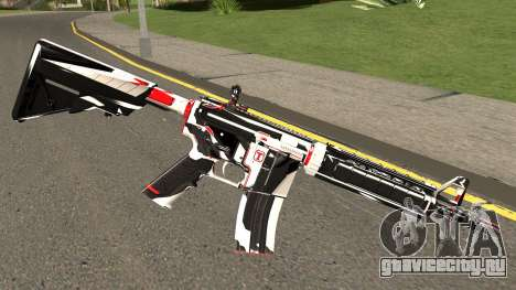M4A4 TiiTree для GTA San Andreas второй скриншот