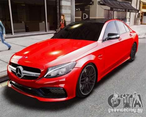 Mercedes-Benz C63s AMG для GTA 4