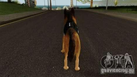 K9 Dog With Vest для GTA San Andreas третий скриншот