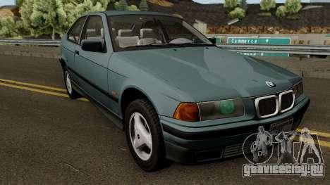 BMW 3-Series e36 Compact 318ti 1995 (US-Spec) для GTA San Andreas вид изнутри