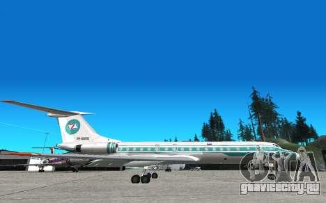 ТУ-134 Алроса для GTA San Andreas
