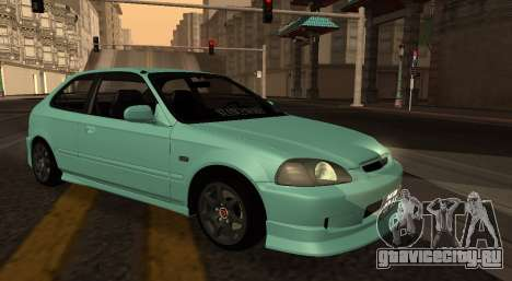 Honda Civic Olive Green для GTA San Andreas