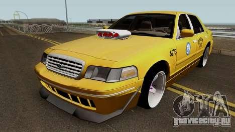 Ford Crown Victoria New York Taxi (Taxi Movie) для GTA San Andreas