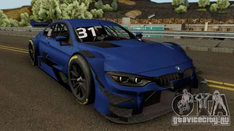 BMW M4 Driving Experience Racing 2017 для GTA San Andreas