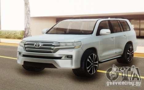Toyota Land Cruiser 200 White Offroad для GTA San Andreas