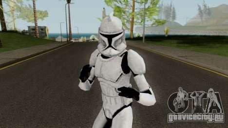 Clone Trooper (Star Wars The Clone Wars) для GTA San Andreas