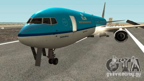 Boeing 767-300 KLM Livery для GTA San Andreas