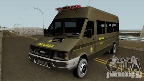 Iveco Turbo Daily Police для GTA San Andreas