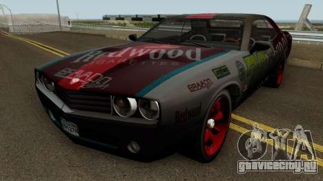 Dodge Challenger SRT Redwood (Gauntlet) 2012 для GTA San Andreas