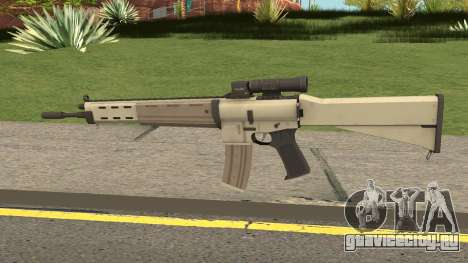 M4 From SZGH для GTA San Andreas