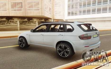 BMW X5M E70 для GTA San Andreas