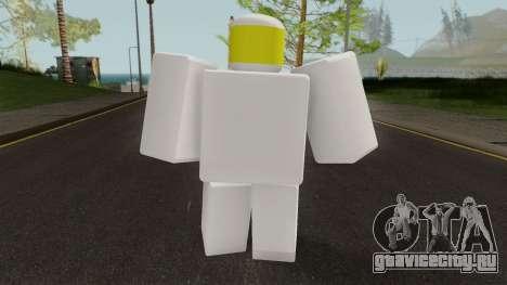 Roblox Noob для GTA San Andreas третий скриншот
