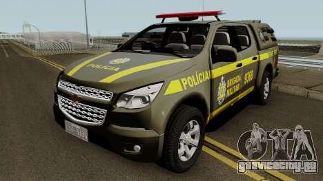 Chevrolet S10 Police (Patrulhas Especiais) для GTA San Andreas