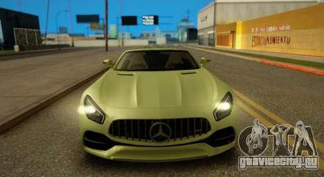 Mercedes-Benz GT-C для GTA San Andreas вид слева