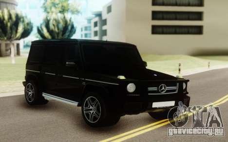 Mercedes-Benz AMG G63 vs G55 для GTA San Andreas