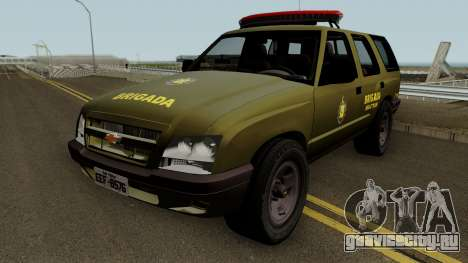 Chevrolet Blazer 2010 Brazilian Police для GTA San Andreas
