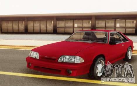 Ford Mustang SVT CobraR 1993 для GTA San Andreas