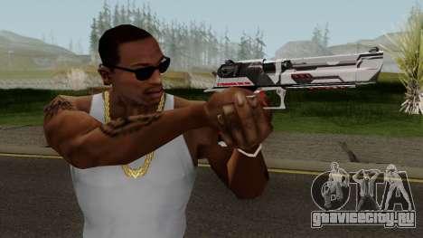Desert Eagle TiiTree для GTA San Andreas третий скриншот